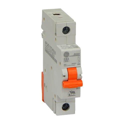 Фото Автоматичний вимикач DG 61 C63А 6kA General Electric