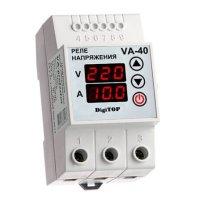 Фото Реле напряжения с контролем тока V-protector VА-40А DigiTOP