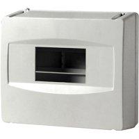 Фото Корпус пластиковий 4-модульний e.plbox.stand.04, без дверцят