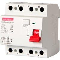 Фото Выключатель дифференциального тока, 4р, 40А, 300мА e.rccb.pr