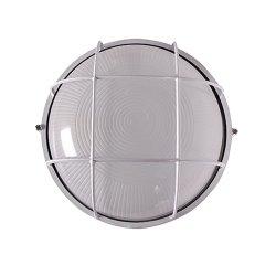Светильник накладной влагозащитный 100 Вт e.light.1303.1.100.27.white
