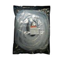 Фото Спиральная обвязка для кабеля, 15-100 мм, 10м, прозрачная, e