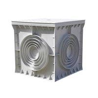 Фото Кабельный колодец, пластиковый, 300х300х300 мм, e.manhole.30