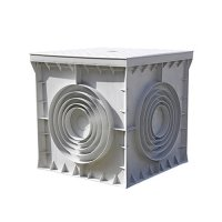 Фото Кабельный колодец, пластиковый, 400х400х400 мм, e.manhole.40