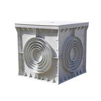 Фото Кабельный колодец, пластиковый, 550х550х500 мм, e.manhole.55