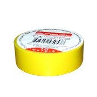 Фото Изолента из самозатухающего ПВХ, желтая, 20м, e.tape.pro.20.