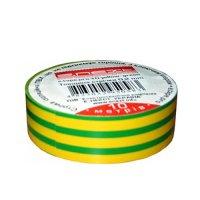 Фото Изолента 10м, желто-зелёная, e.tape.stand.10.yellow-green