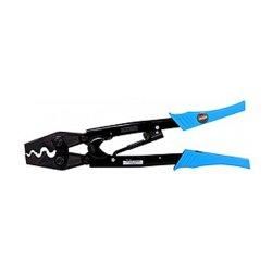 Инструмент для обжима неизолированных кабельных наконечников 5.5-35 кв.мм (точечная и гексагональная форма) e.tool.crimp.hs.38.6.35