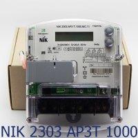Фото Трёхфазный многотарифный счётчик НИК 2303 AP3Т.1000.MC.11 3ф (5-120А) 380В
