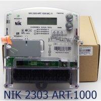 Фото Трёхфазный счётчик НИК 2303 3ф (5-10А) 380В ART.1000.MC.11