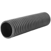 Фото Труба гофриванная двустенная черная e.kor.tube.black.110.95,