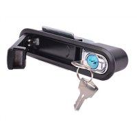 Фото Замок-ручка с кнопкой открытия IP54 для электрощита e.lock.0