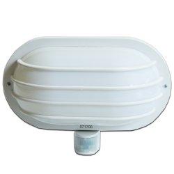 Светильник с датчиком движения 180° IP44 e.sensor.lum.69.e27.white (белый)