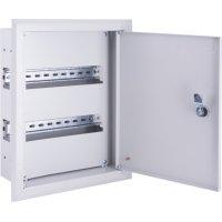Фото Щиток для автоматов встраиваемый на 48 модулей с замком e.mbox.pro.w.48z IP31