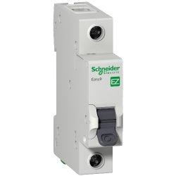 Автоматический выключатель Schneider 1р 63А Х-кА С Easy9