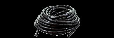 Фото Спиральная обвязка для кабеля